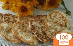 Фото рецепта: «Оладьи из цуккини и моркови»