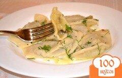 Фото рецепта: «Вареники с картофелем и грибами»