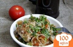 Фото рецепта: «Чахохбили из курицы с помидорами»