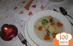 Фото рецепта: «СЕРДЕЧНАЯ ИСТОРИЯ: Суп финский из лосося со сливками»