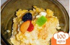 Фото рецепта: «Рисовый пудинг с тыквой»