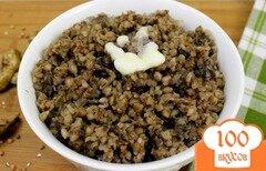 Фото рецепта: «Гречневая каша с грибами и луком»