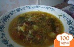 Фото рецепта: «Суп из замороженных грибов»