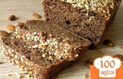 Фото рецепта: «Шоколадный хлеб с черносливом и миндалем»