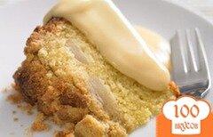 Фото рецепта: «Пирог с консервированными грушами»