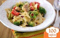 Фото рецепта: «Пряная паста с тремя перцами»