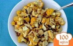 Фото рецепта: «Цветная капуста с яблоками»