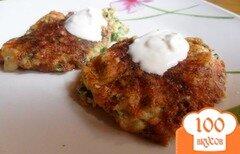 Фото рецепта: «Сырные творожники с петрушкоц»