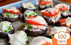Фото рецепта: «Грибы портобелло с тунцом»