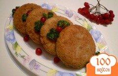Фото рецепта: «Перловые котлеты с луком»