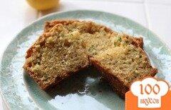 Фото рецепта: «Хлеб с лимоном и кабачками»