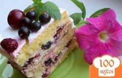 Фото рецепта: «Торт фруктовый»
