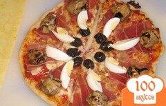 Фото рецепта: «Пицца 4 сыра»