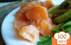 Фото рецепта: «Малосоленый лосось»