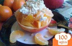 Фото рецепта: «Зимний, фруктовый десерт»