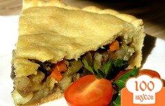 Фото рецепта: «Постный овощной пирог»