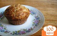 Фото рецепта: «Кексы с кабачком и сыром»