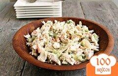Фото рецепта: «Куриный салат с капустой и эстрагоном»