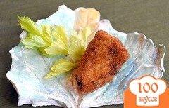 Фото рецепта: «Сыр, жареный в панировке»