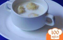 Фото рецепта: «Молочный суп с картофельными клецками»