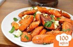 Фото рецепта: «Морковь с сыром и петрушкой»