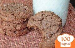 Фото рецепта: «Печенье с мелассой»