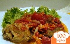 Фото рецепта: «Рыба с томатами»