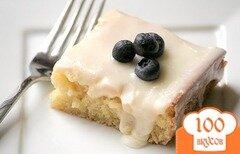 Фото рецепта: «Пирожные с глазурью»