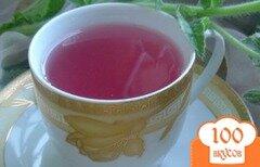 Фото рецепта: «Чай из смородины, её листочков и имбиря»