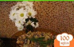 Фото рецепта: «Гарнир из картофеля с грибами и кабачком»