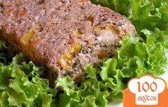 Фото рецепта: «Мясной террин с овощами и каперсами»