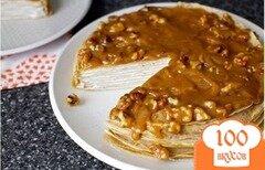 Фото рецепта: «Блинный банановый торт»