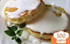 Фото рецепта: «Сырники с пшенной кашей»
