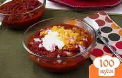Фото рецепта: «Суп чили с говядиной»
