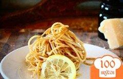 Фото рецепта: «Паста с лимоном и черным перцем»