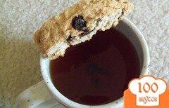 Фото рецепта: «Бискотти с семечками и шоколадом»