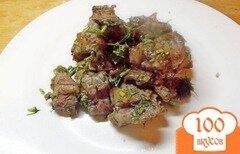 Фото рецепта: «Баранина в заправке из трав»
