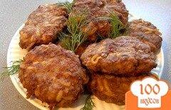 Фото рецепта: «Котлеты из фарша с картофелем»