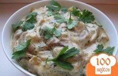Фото рецепта: «Маслята в сметане»