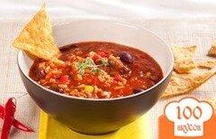 Фото рецепта: «Рисовый суп по-мексикански»