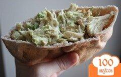Фото рецепта: «Куриный салат с авокадо для бутербродов»