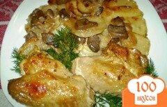 Фото рецепта: «Куриные крылышки в соевом соусе с горчицей»