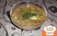 Фото рецепта: «Зеленый борщ»