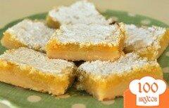 Фото рецепта: «Лимонные пирожные»