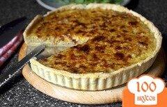 Фото рецепта: «Французский луковый пирог»