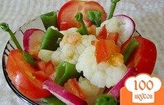Фото рецепта: «Порциальный салат»