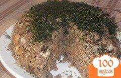 Фото рецепта: «Печоночный тортик»