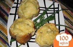 Фото рецепта: «Тефтели Рыбные гнезда»