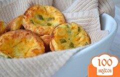 Фото рецепта: «Пирожки с сыром и халапеньо»