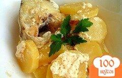 Фото рецепта: «Минтай с картошкой»
